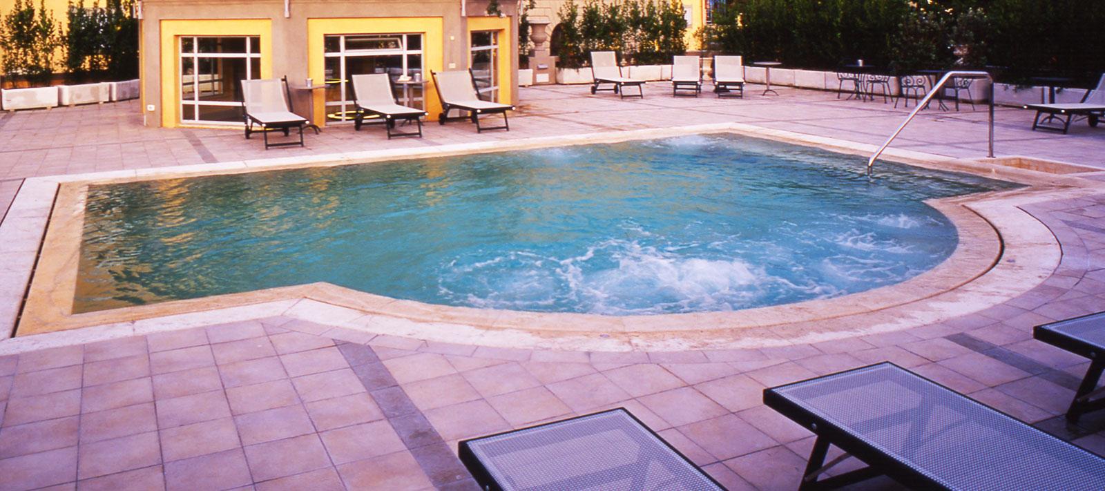 piscina con idromassaggio culligan