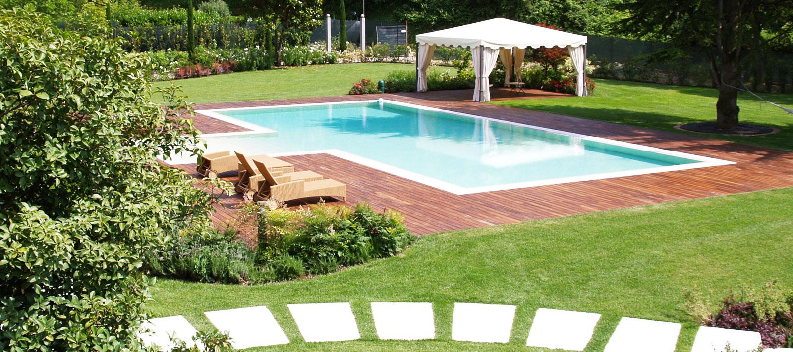 piscina privata in giardino culligan