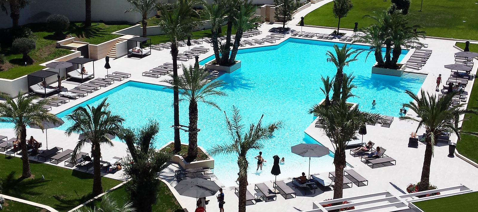 piscine hotel culligan