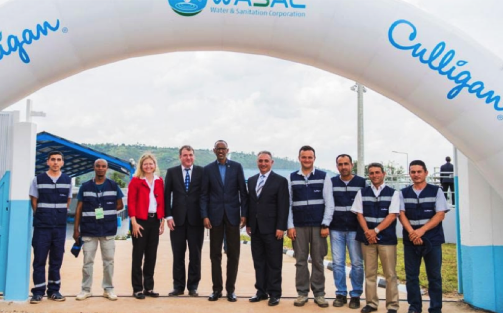 culligan rwanda water treatment