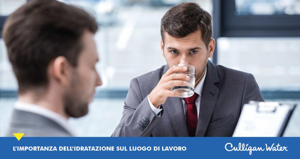 Acqua e Lavoro - idratazione