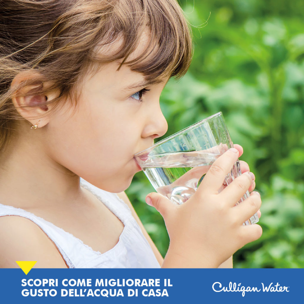 Migliora il gusto dell'acqua del rubinetto