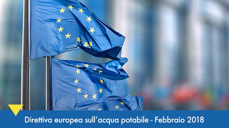 Direttiva Europea acqua potabile