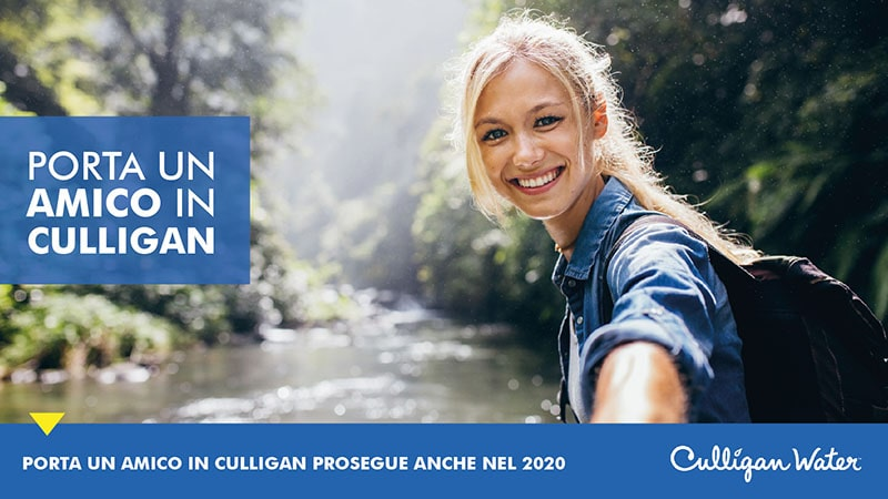 Porta un amico in Culligan 2020