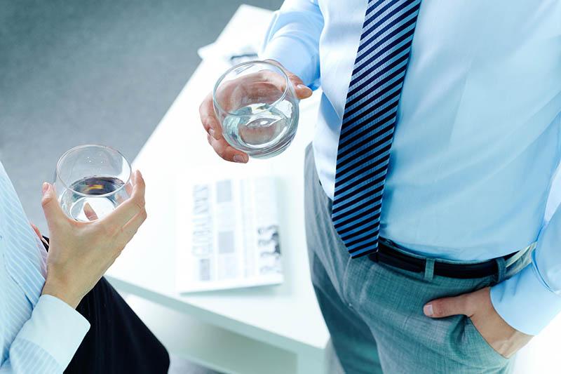 acqua in ufficio