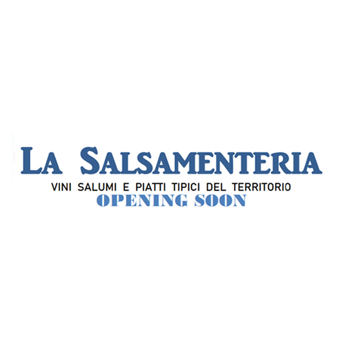 "<span style=""font-size: 23px;"">LA<BR> SALSAMENTERIA</span>"