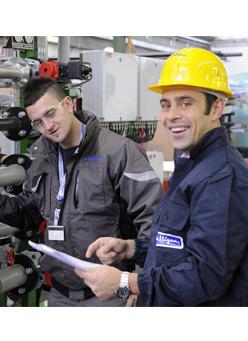 asistenza parti di ricambio impianti navi crociera