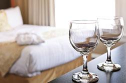 Acqua per camere d'albergo