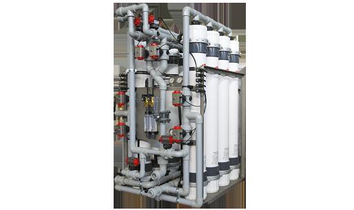 sistema modulare ultrafiltrazione acqua culligan DSC