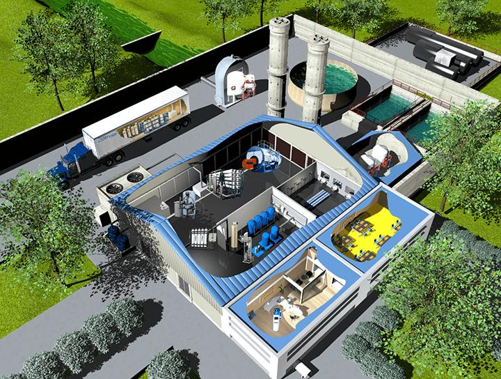 Sistemi trattamento acqua per l'industria