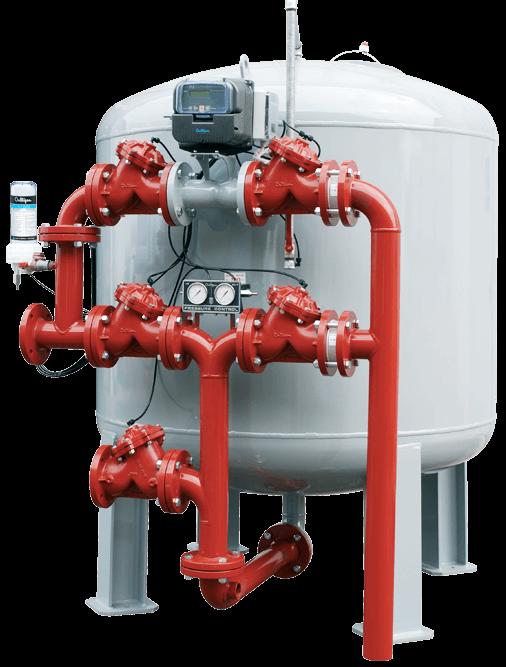 Impianti filtrazione multistrato per il trattamento dell'acqua